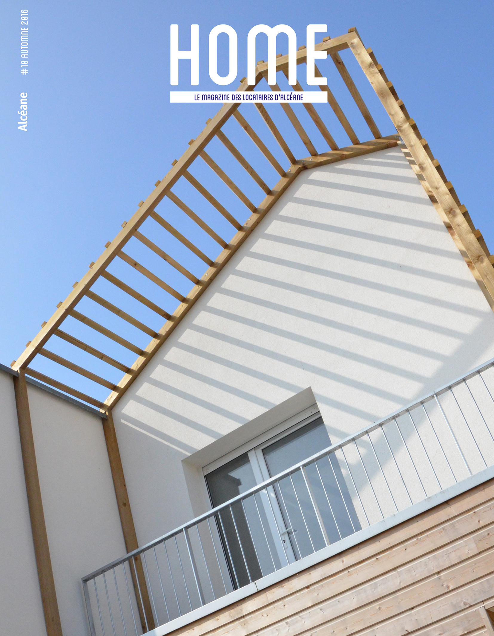 Couverture magazine Home 10