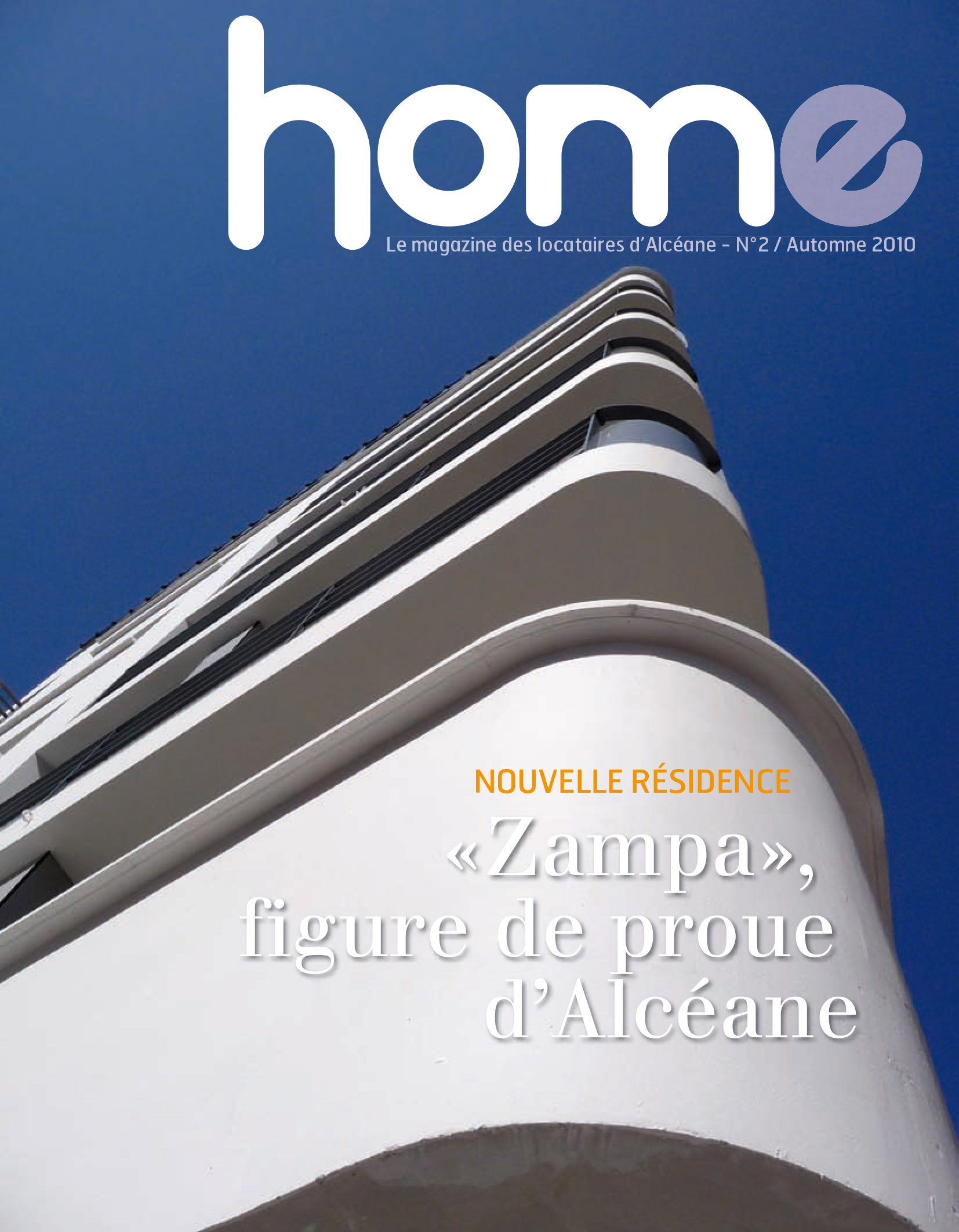 Couverture magazine Home 2