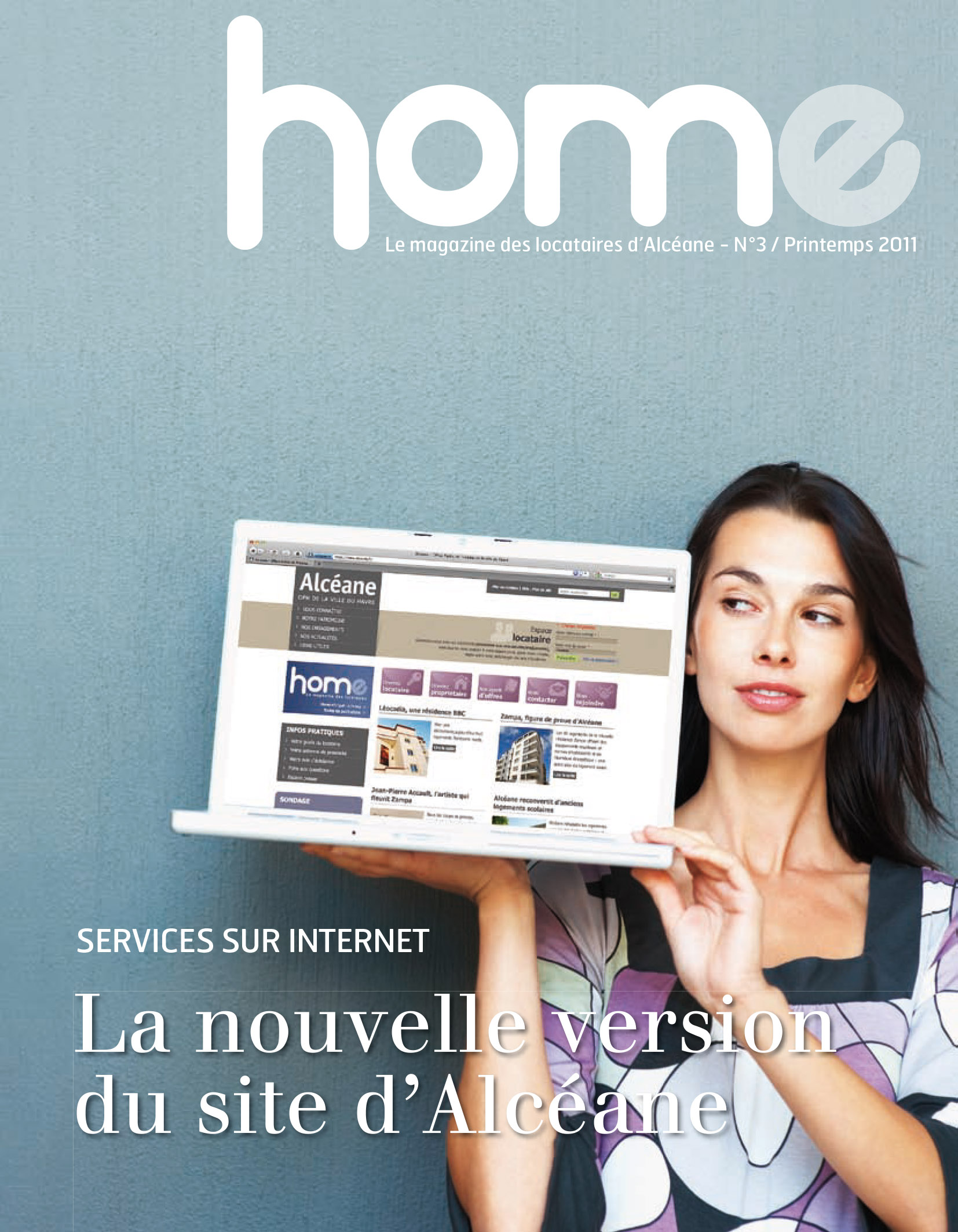Couverture magazine Home 3