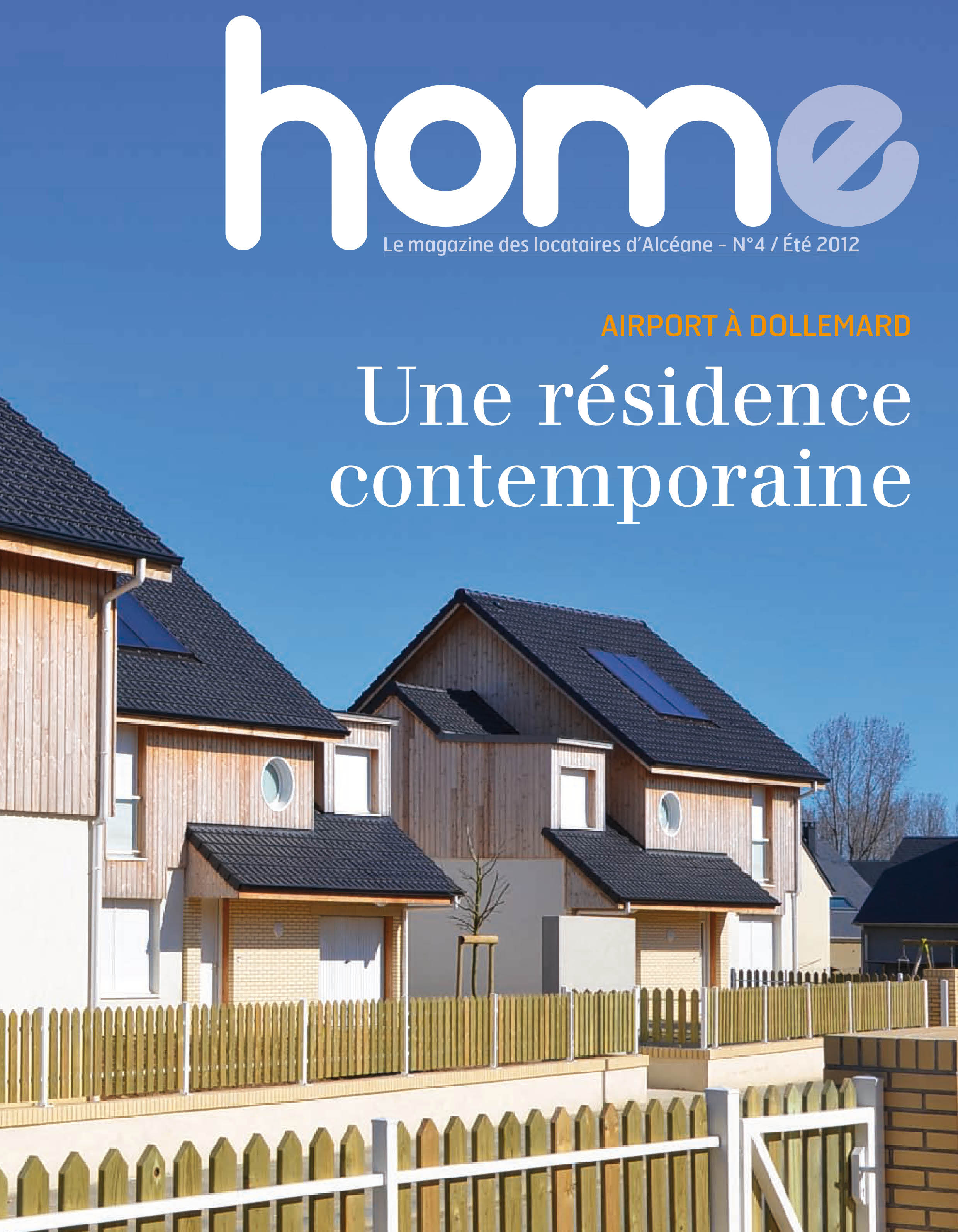 Couverture magazine Home 4