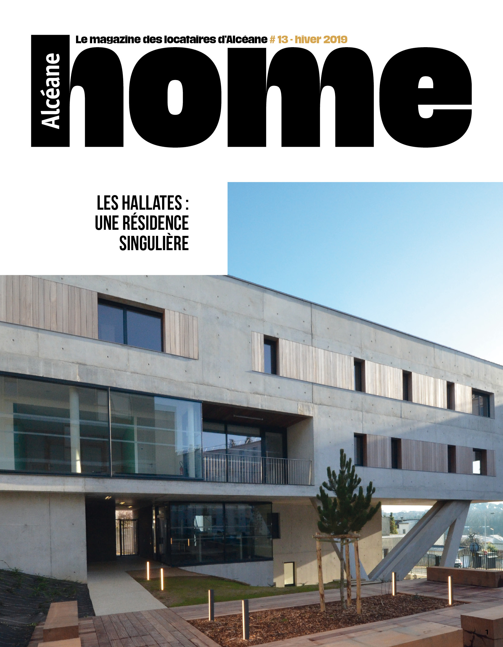 Couverture magazine Home 13
