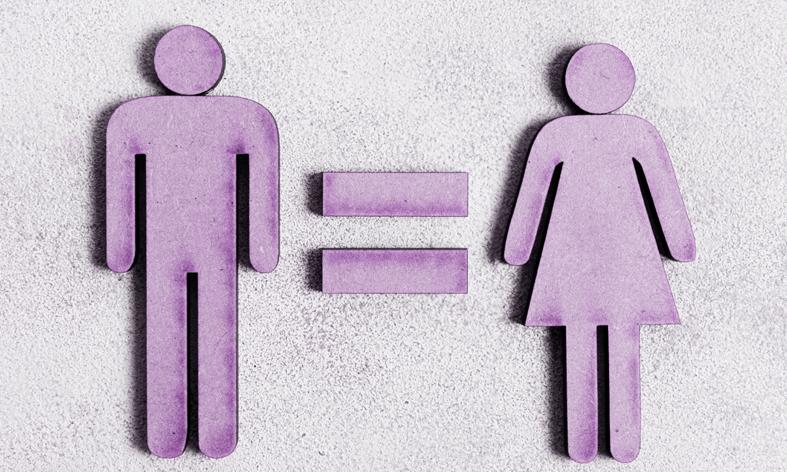 Illustration sur l'égalité femmes hommes au travail