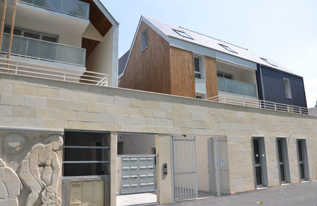 Photo de la résidence Les 4 Éléments à Honfleur