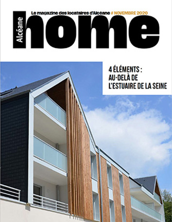 Couverture magazine Home 15