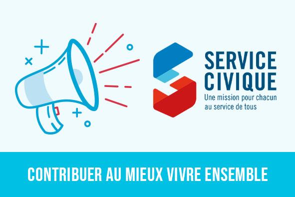 Illsutration service civique Alcéane